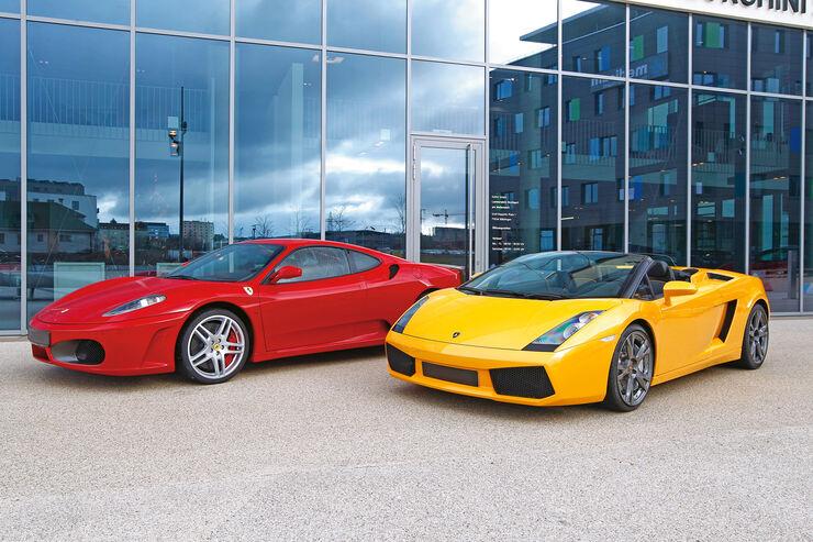 Lamborghini Gallardo Coupé, Seitenansicht
