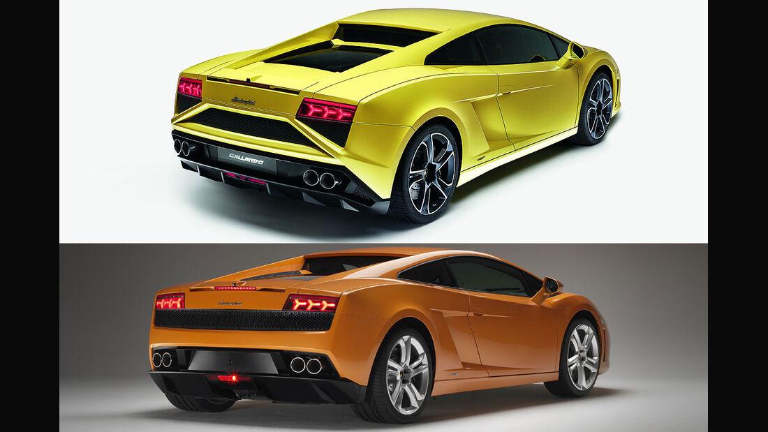 Lamborghini Gallardo LP 560-4 Alt&Neu