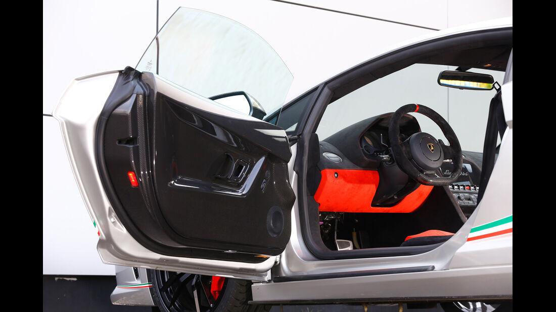 Lamborghini Gallardo LP 570-4 Squadra Corse, Fahrertür