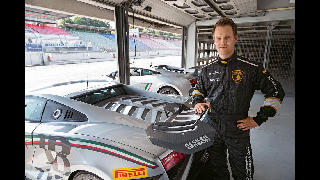 Lamborghini Gallardo LP 570-4 Squadra Corse, Gallardo Super Trofeo, Christian Gebhardt