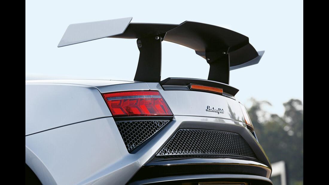 Lamborghini Gallardo LP 570-4 Squadra Corse, Heckspoiler