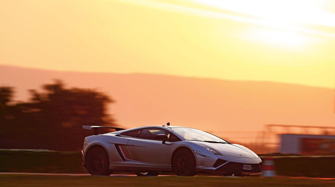 Lamborghini Gallardo LP 570-4 Squadra Corse, Seitenansicht