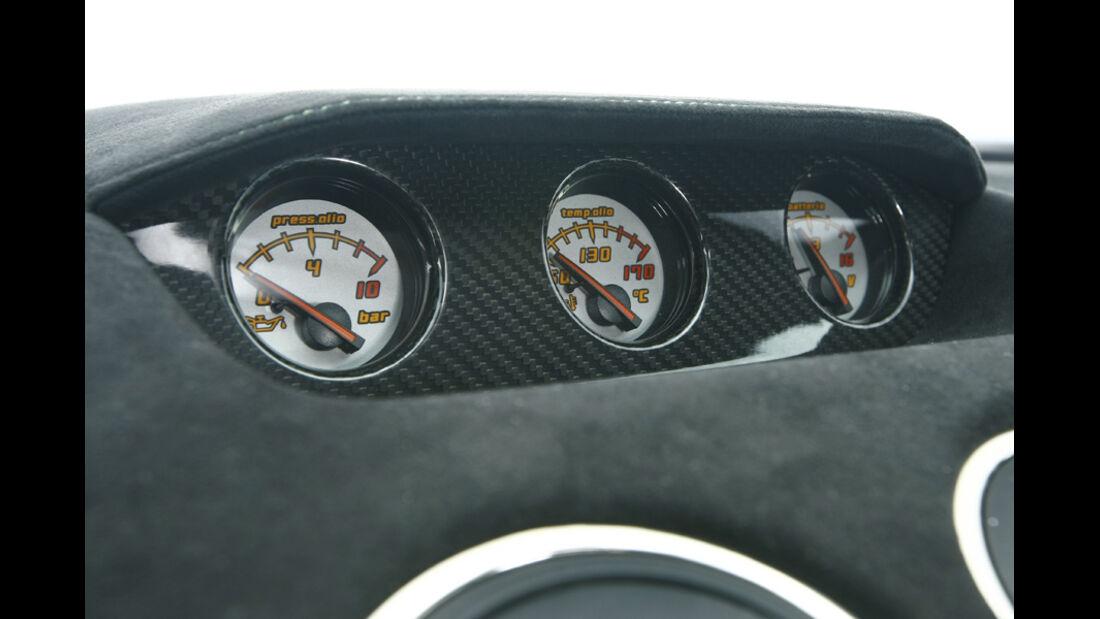 Lamborghini Gallardo LP 570-4 Superleggera, Anzeigeinstrumente, Drehzahlmesser