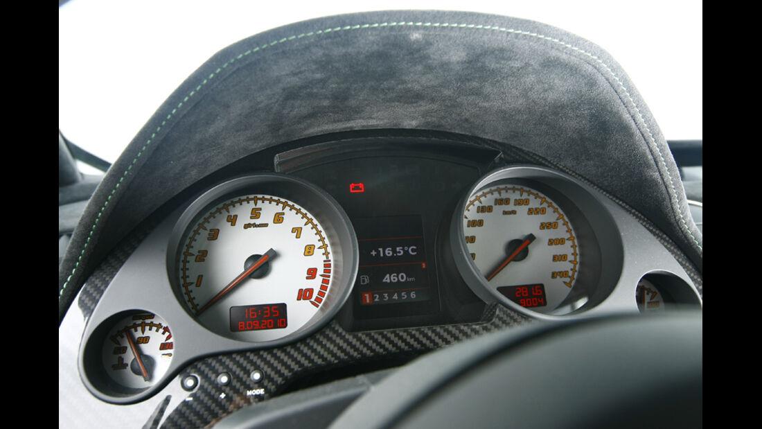 Lamborghini Gallardo LP 570-4 Superleggera, Anzeigeinstrumente, Tacho