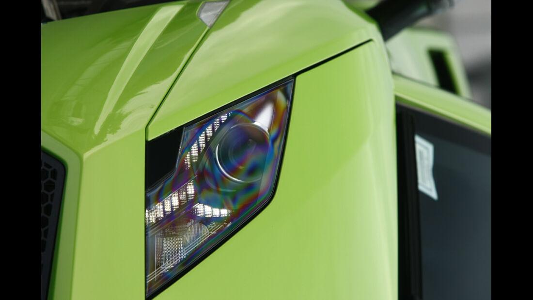 Lamborghini Gallardo LP 570-4 Superleggera, Frontscheinwerfer, Scheinwerfer