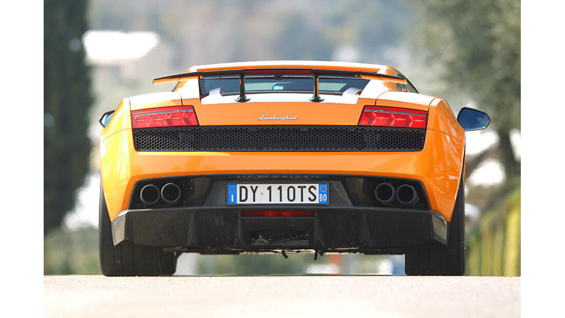 Lamborghini Gallardo LP 570-4 Superleggera - Heckansicht