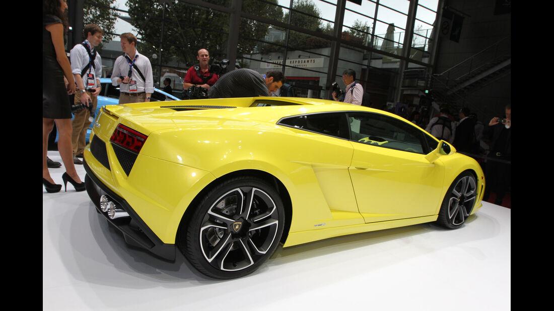 Lamborghini Gallardo LP560-4, Messe, Autosalon Paris 2012