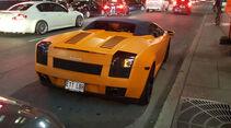 Lamborghini Gallardo Spyder - Carspotting - GP Kanada 2016 - Montreal