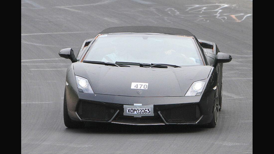 Lamborghini Gallardo Spyder Erlkönig