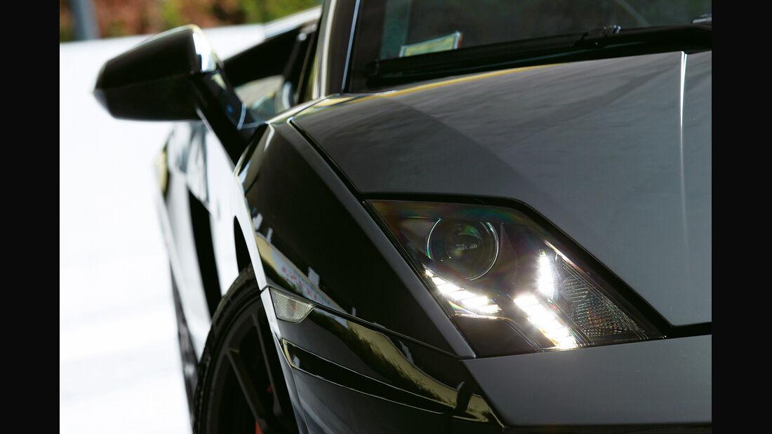 Lamborghini Gallardo Spyder Performante, Frontscheinwerfer