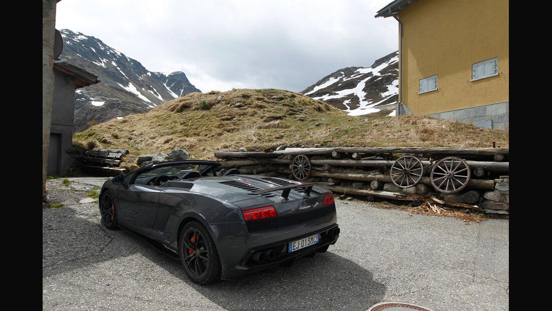 Lamborghini Gallardo Spyder Performante, Heck