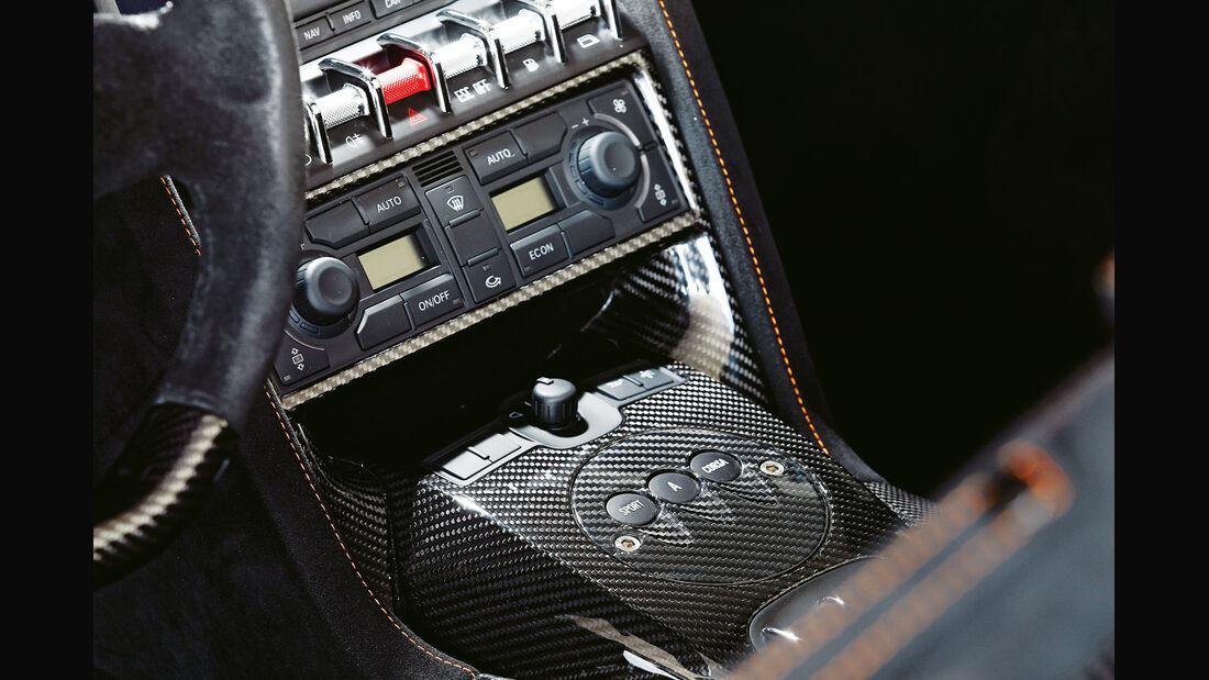 Lamborghini Gallardo Spyder Performante, Mittelkonsole