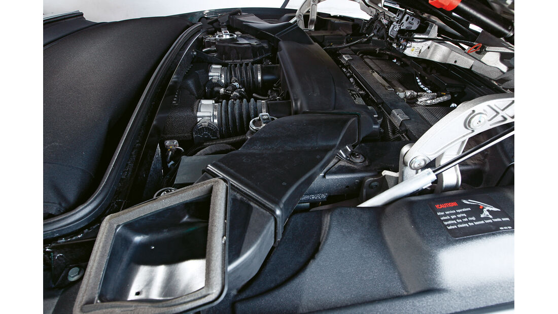 Lamborghini Gallardo Spyder Performante, Motor