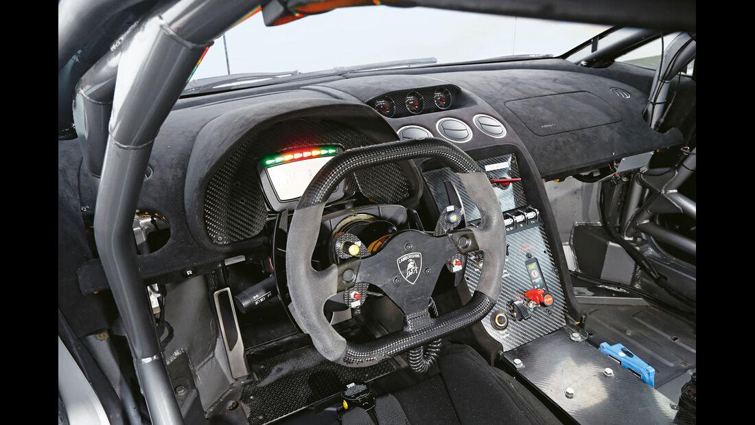 Lamborghini Gallardo Super Trofeo, Cockpit