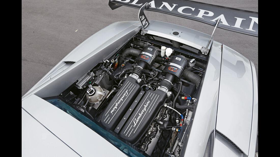 Lamborghini Gallardo Super Trofeo, Motor