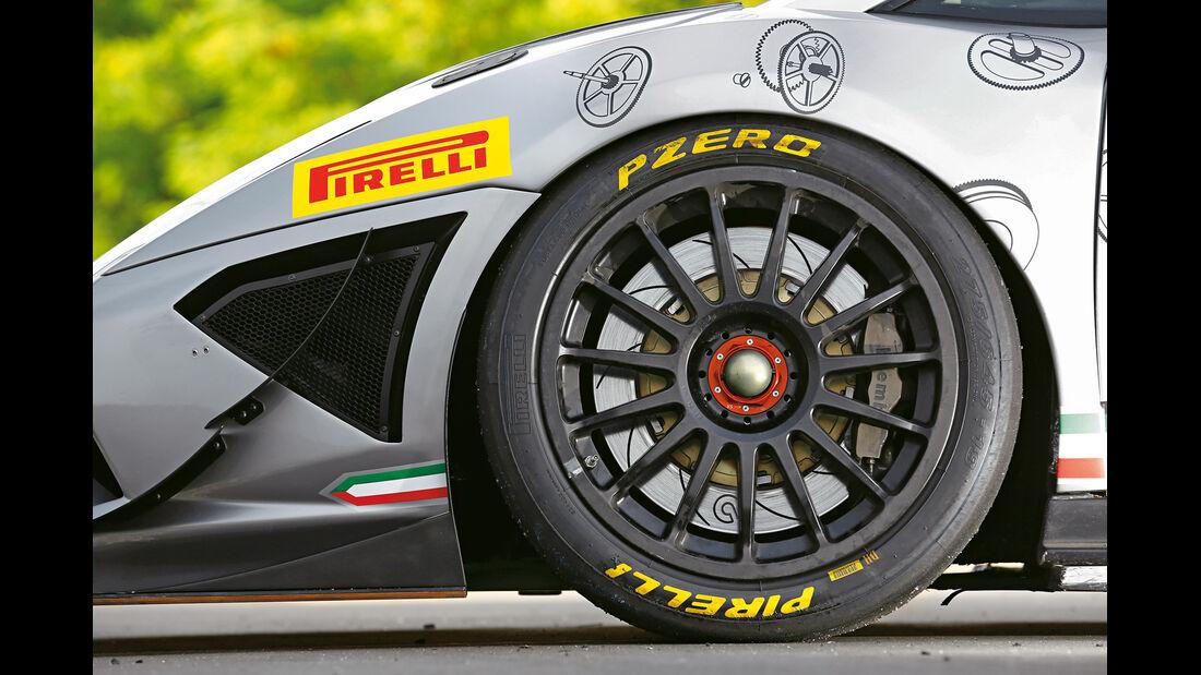 Lamborghini Gallardo Super Trofeo, Rad, Felge