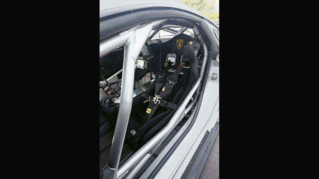 Lamborghini Gallardo Super Trofeo, Überrollkäfig
