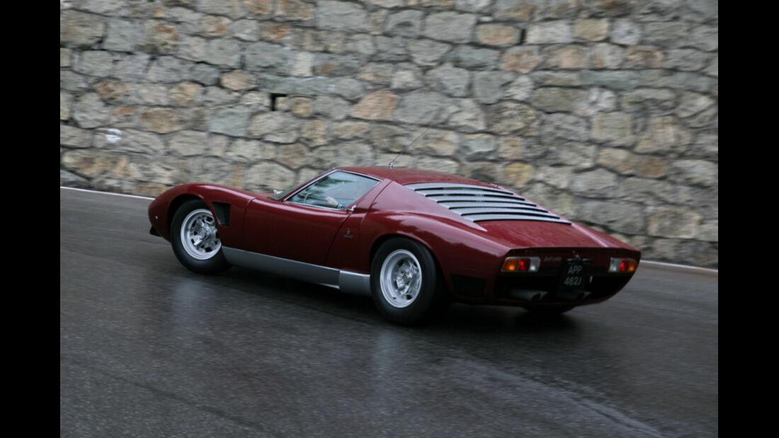Lamborghini Heck - Seitenansicht