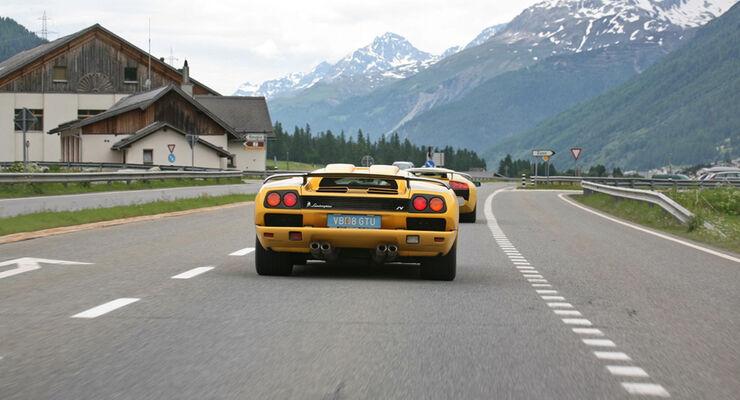 Lamborghini Heck
