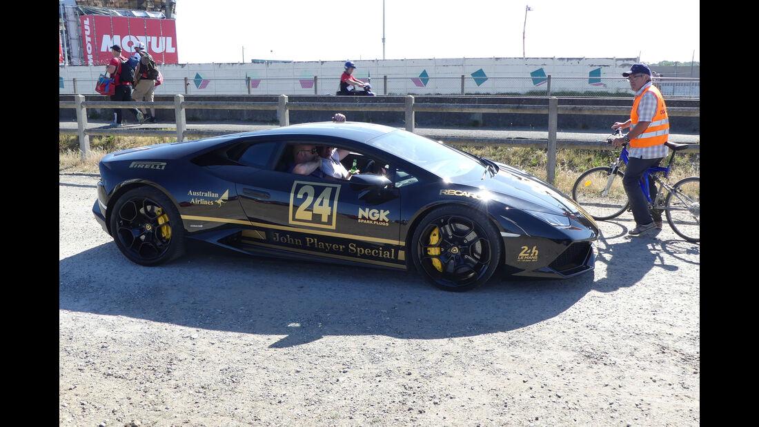 Lamborghini Huracán - Carspotting - Fan-Autos - 24h-Rennen Le Mans 2017