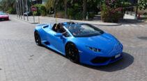 Lamborghini Huracán - Carspotting - GP Abu Dhabi 2019