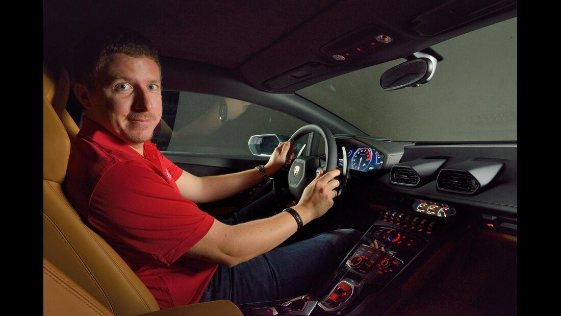 Lamborghini Huracán, Cockpit, Jens Dralle