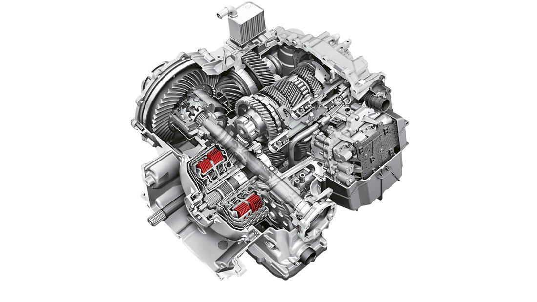 Lamborghini Huracán, Doppelkupplungsgetriebe