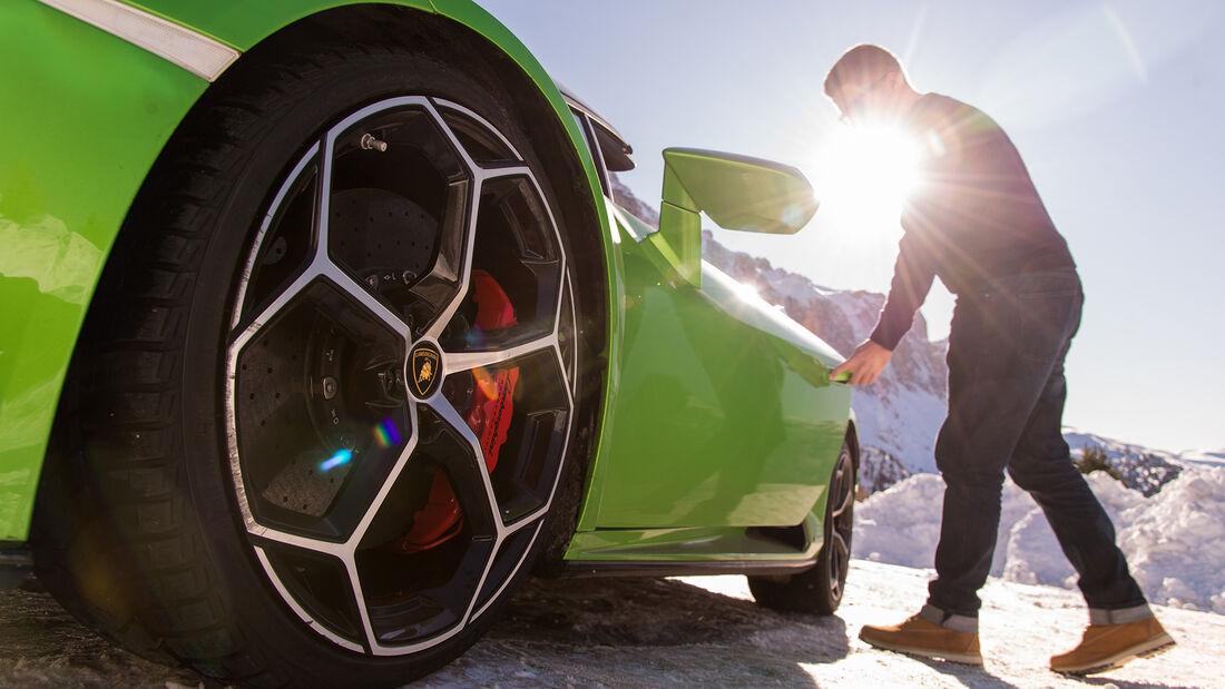 Lamborghini Huracán Evo Spyder, Exterieur