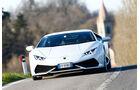 Lamborghini Huracán, Frontansicht