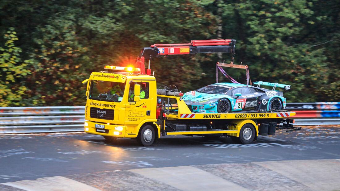 Lamborghini Huracán GT3 Evo - Startnummer 21 - 24h Rennen Nürburgring - Nürburgring-Nordschleife - 26. September 2020