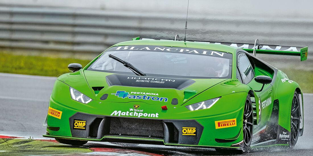 Lamborghini Huracán GT3, Frontansicht