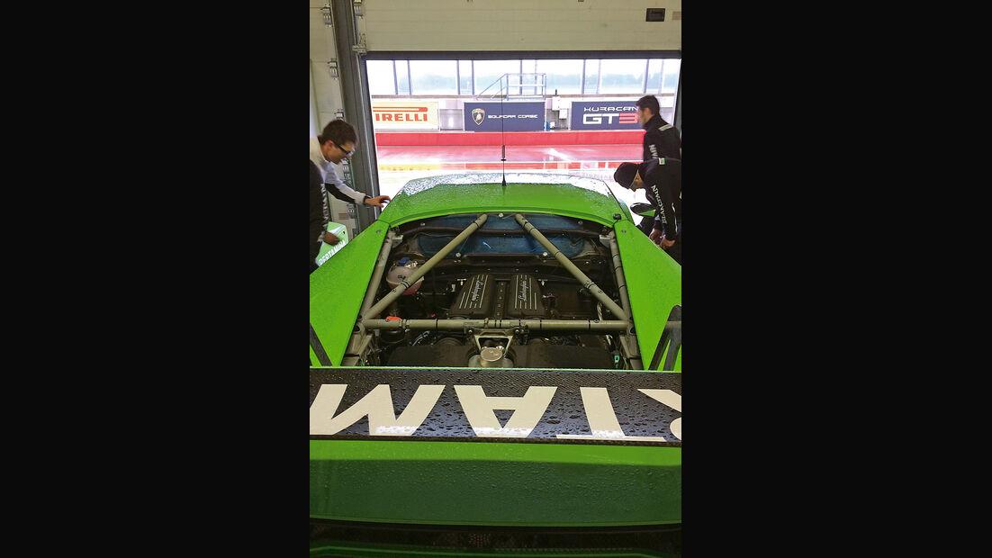 Lamborghini Huracán GT3, Motor