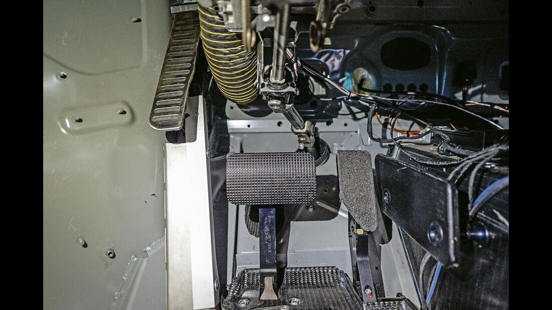 Lamborghini Huracán GT3, Pedalerie