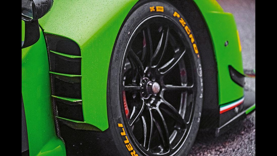 Lamborghini Huracán GT3, Rad, Felge