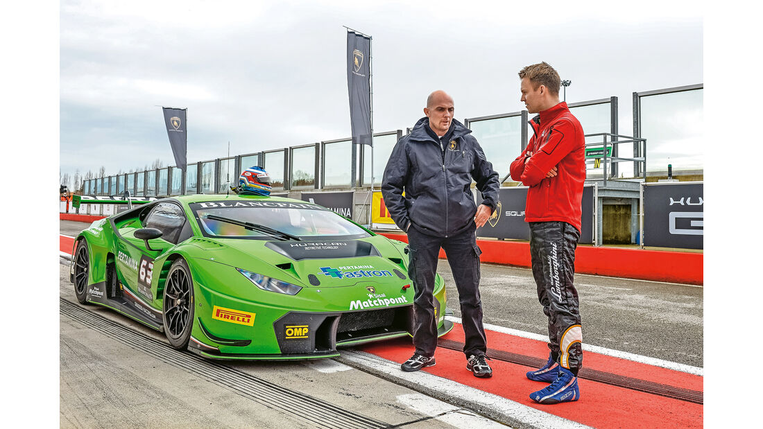 Lamborghini Huracán GT3, Sanna, Christian Gebhardt