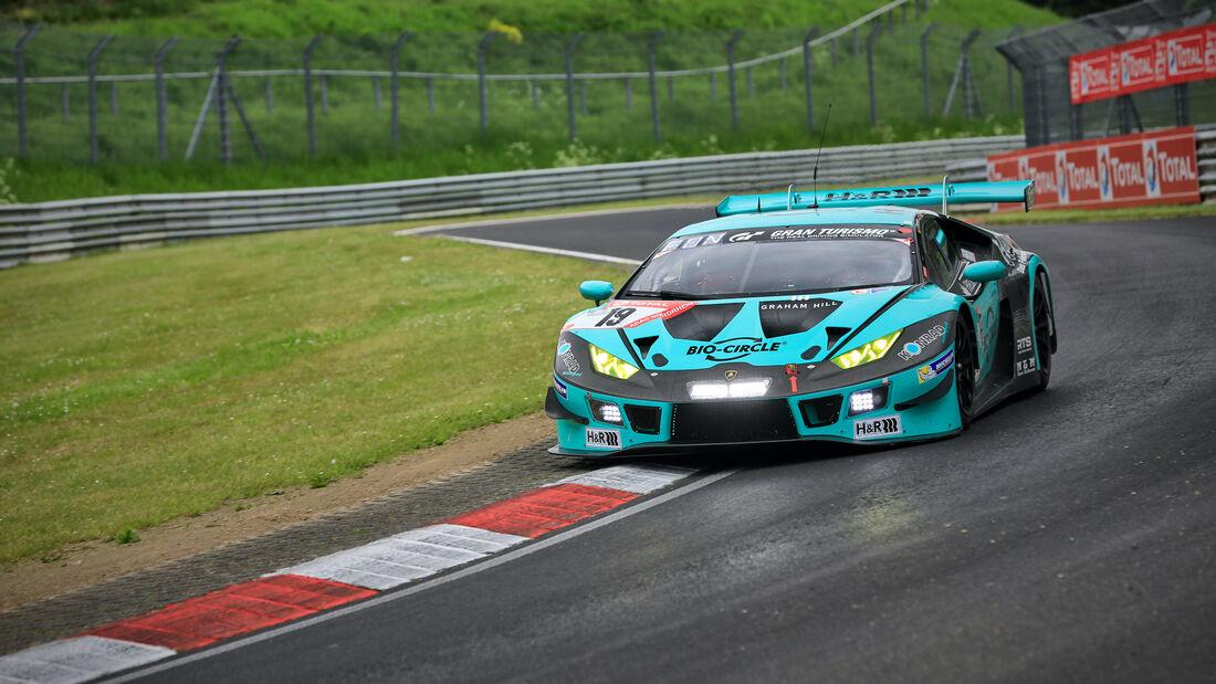 Lamborghini Huracán GT3 - Startnummer 19 - 24h Rennen Nürburgring - Nürburgring-Nordschleife - 3. Juni 2021