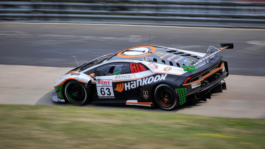 Lamborghini Huracán GT3Evo - Startnummer #63 - SP9 Pro - NLS 2021 - Langstreckenmeisterschaft - Nürburgring - Nordschleife