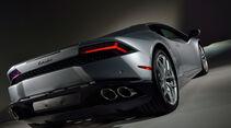 Lamborghini Huracán, Heckansicht