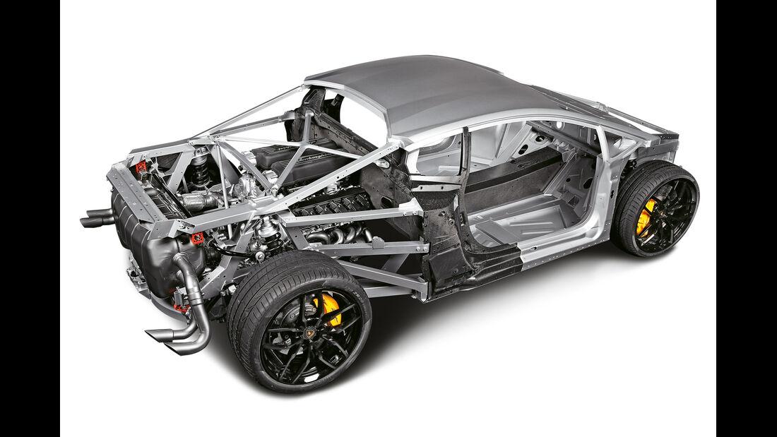 Lamborghini Huracán, Hybrid-Chassis