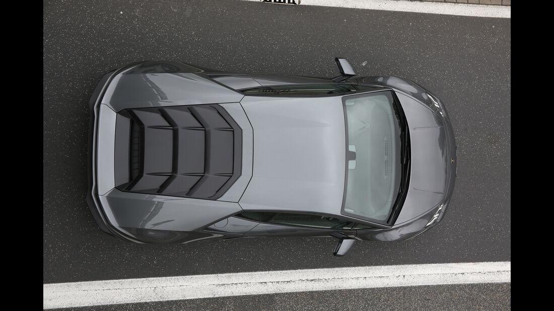 Lamborghini Huracán LP 610-4, Draufsicht