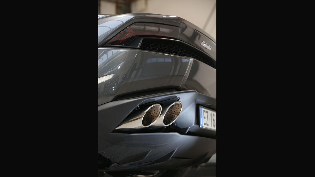 Lamborghini Huracán LP 610-4, Endrohre
