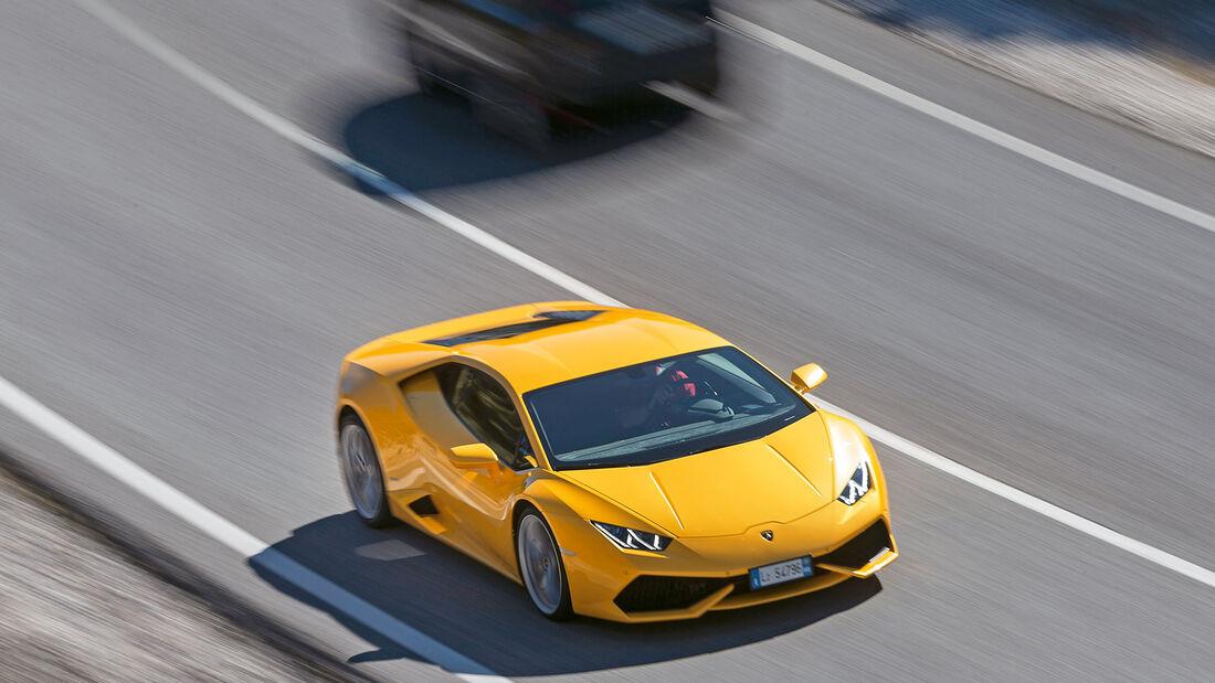 Lamborghini Huracán LP 610-4, Frontansicht