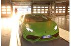 Lamborghini Huracán LP 610-4, Frontansicht, Garage