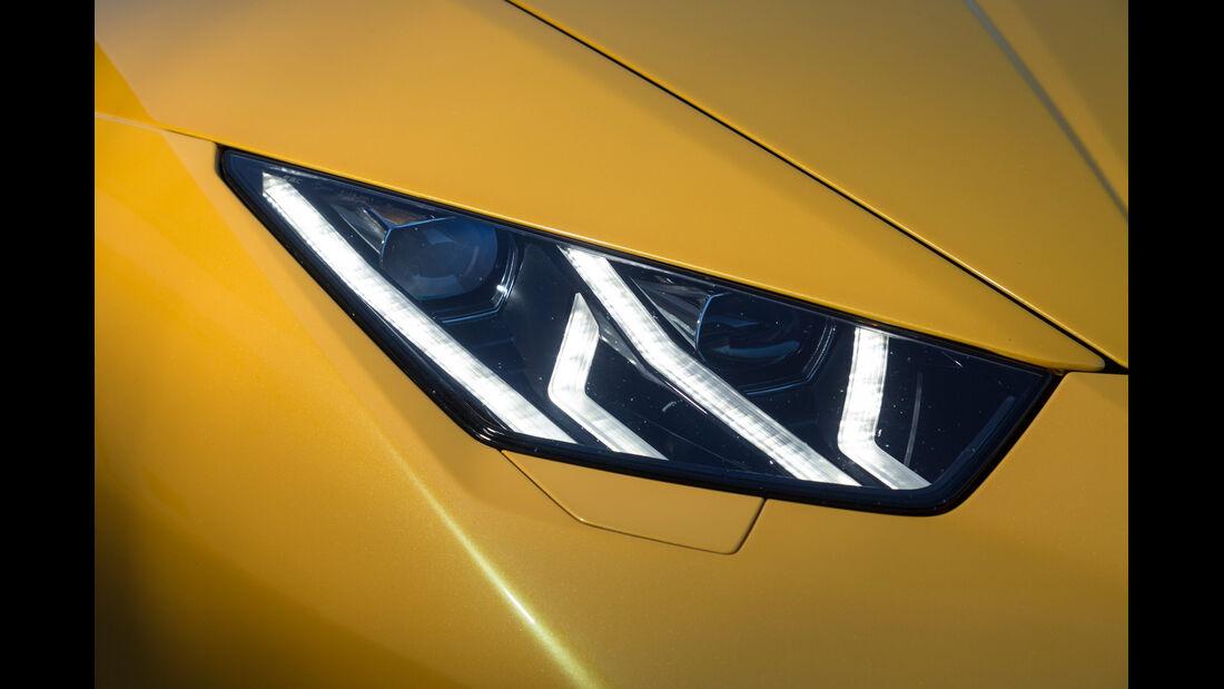 Lamborghini Huracán LP 610-4, Frontscheinwerfer