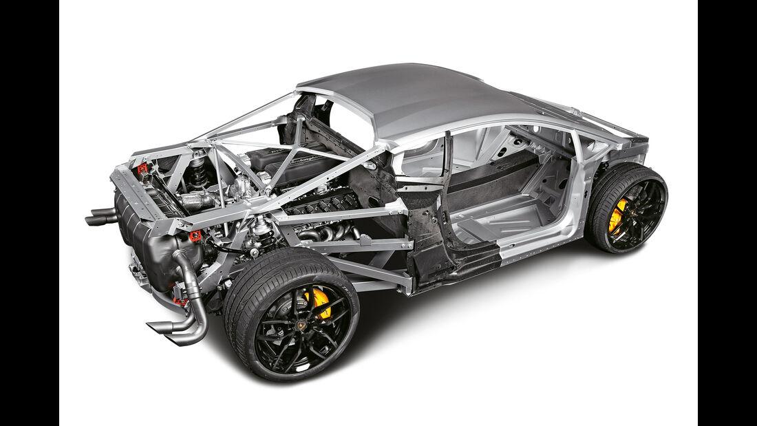 Lamborghini Huracán LP 610-4, Grafik