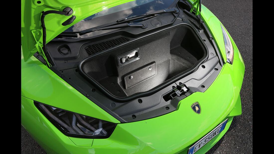 Lamborghini Huracán LP 610-4, Kofferraum