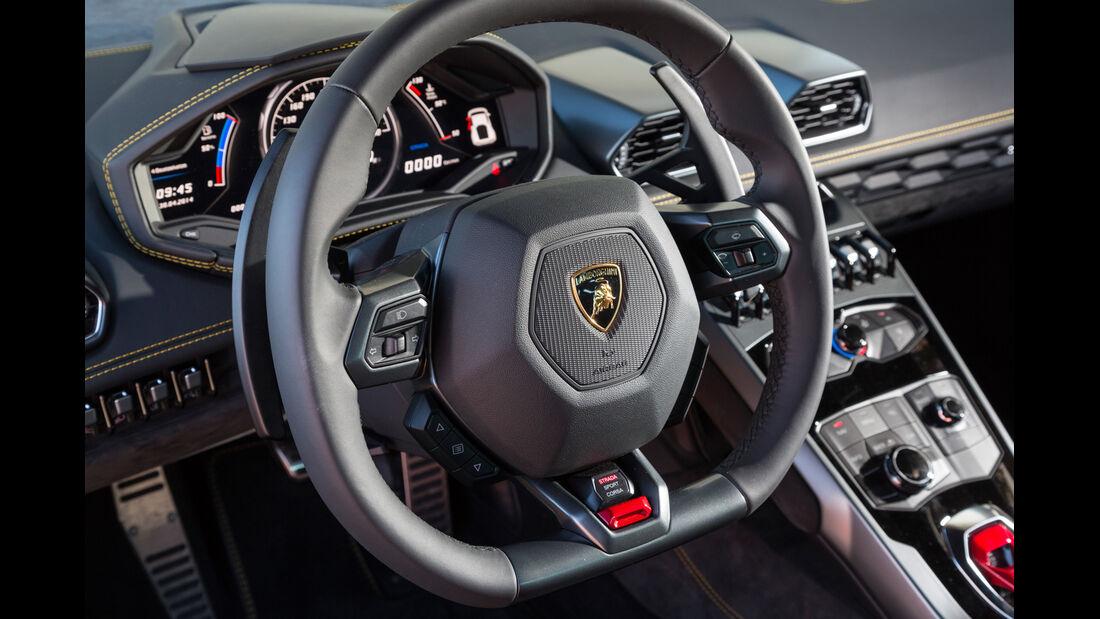 Lamborghini Huracán LP 610-4, Lenkrad