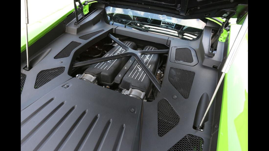 Lamborghini Huracán LP 610-4, Motor
