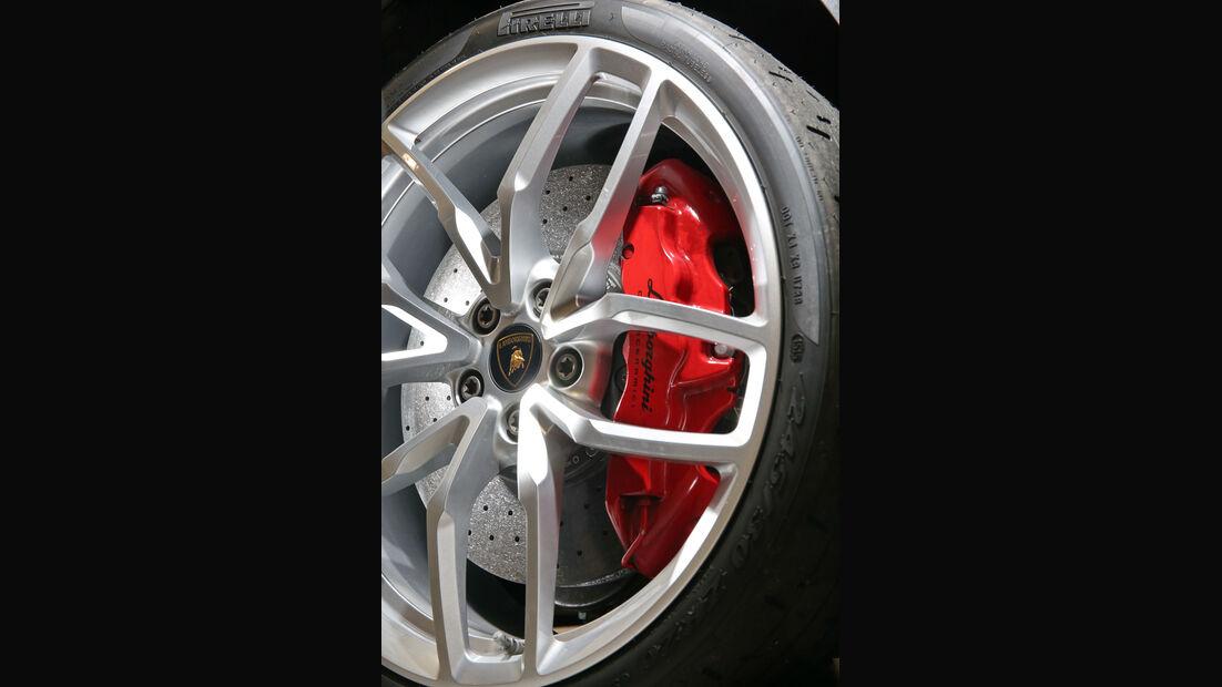 Lamborghini Huracán LP 610-4, Rad, Felge, Bremse