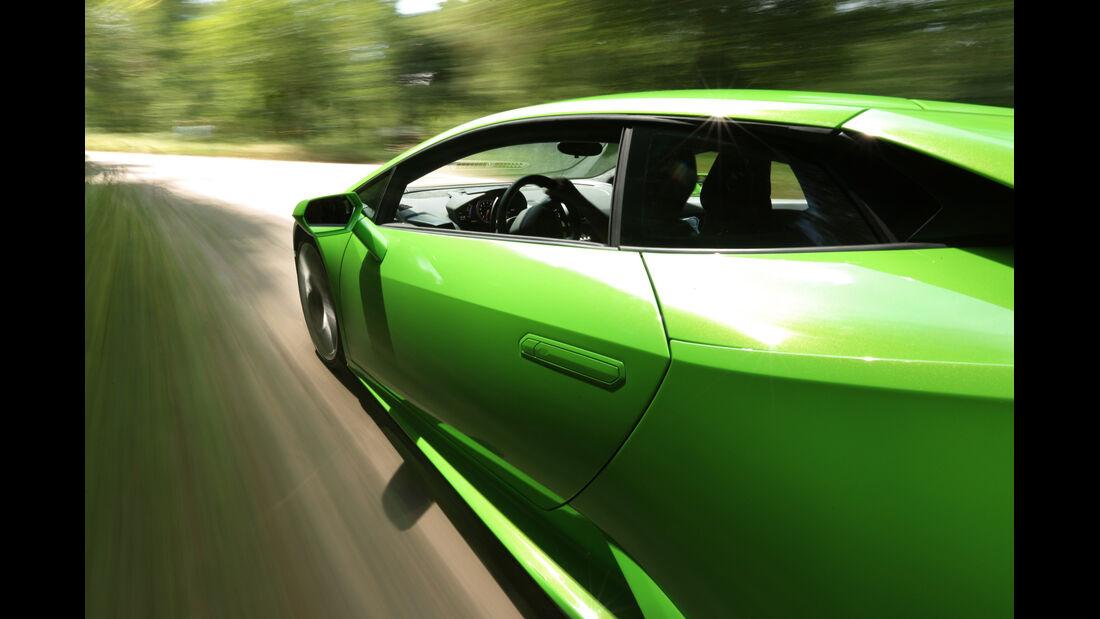 Lamborghini Huracán LP 610-4, Seitenführung